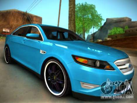 Ford Taurus SHO 2011 for GTA San Andreas right view