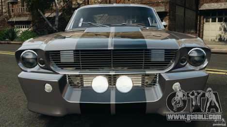 Shelby Mustang GT500 Eleanor 1967 v1.0 [EPM] for GTA 4 interior