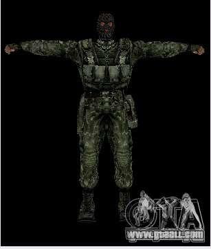 Stalker Shadow of Chernobyl SWAT OGSE for GTA San Andreas third screenshot