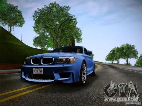 BMW 1M v2 for GTA San Andreas right view