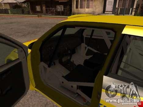 Suzuki Swift Rally for GTA San Andreas inner view