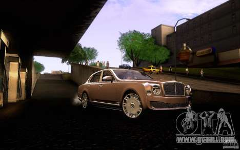Bentley Mulsanne 2010 v1.0 for GTA San Andreas side view