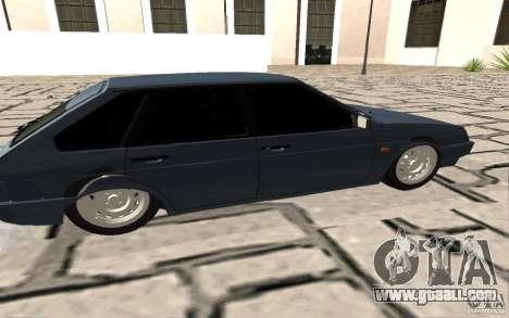 VAZ 2109 v. 2 for GTA San Andreas left view