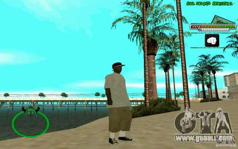 Nigga HD skin for GTA San Andreas forth screenshot