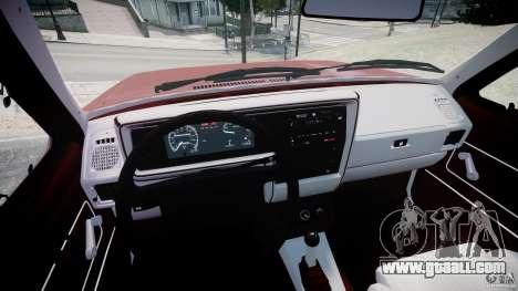 Volkswagen Rabbit 1986 for GTA 4 back view