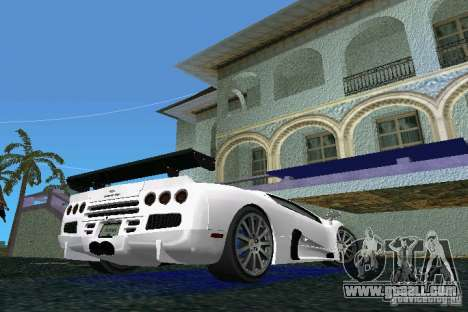 SSC Altimate Aero for GTA Vice City back left view