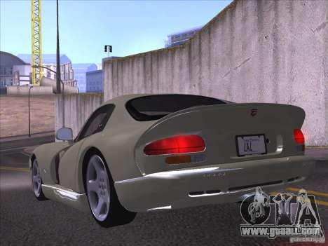 Dodge Viper for GTA San Andreas side view