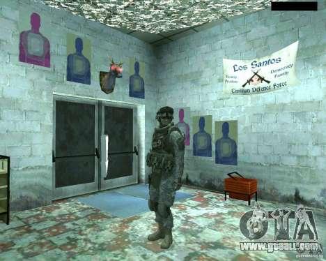 Skin infantryman CoD MW 2 for GTA San Andreas