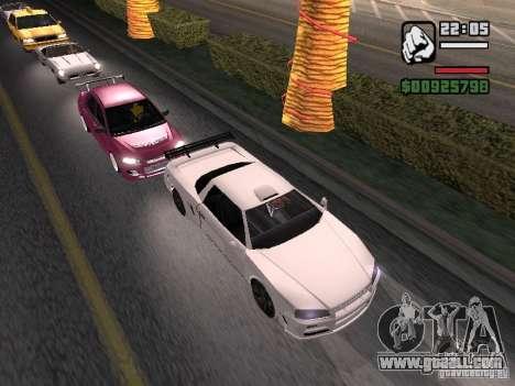 Infernus - beta - v.1 for GTA San Andreas left view