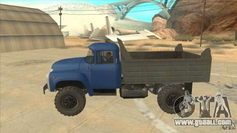 ZIL-MMZ 4502 four-wheel drive for GTA San Andreas left view