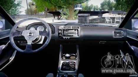 Honda Civic EK9 Tuning for GTA 4 right view