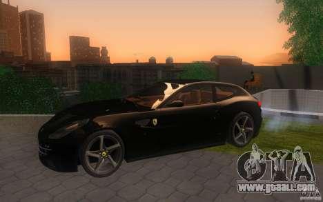 Ferrari FF for GTA San Andreas back view