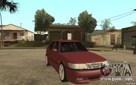 Saab 9-3 Aero 1999 for GTA San Andreas back view