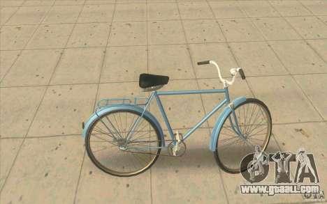 Bike Ural for GTA San Andreas left view