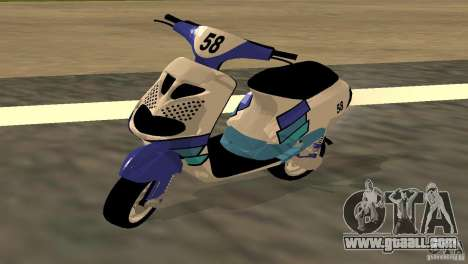 Piaggio Zip Polini Cup for GTA San Andreas