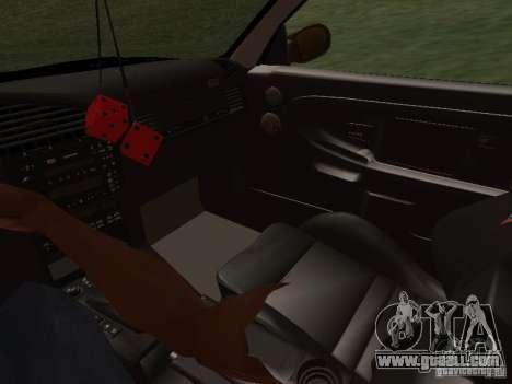 BMW E36 Drift for GTA San Andreas upper view