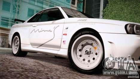 FM3 Wheels Pack for GTA San Andreas eighth screenshot