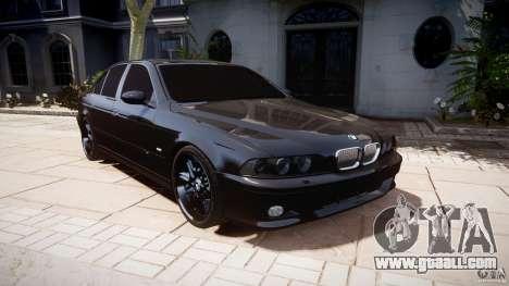 BMW M5 E39 Stock 2003 v3.0 for GTA 4 back view