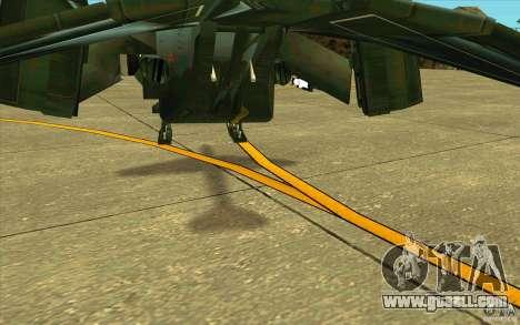 Aliens vs. Predator Marine Drobship for GTA San Andreas upper view