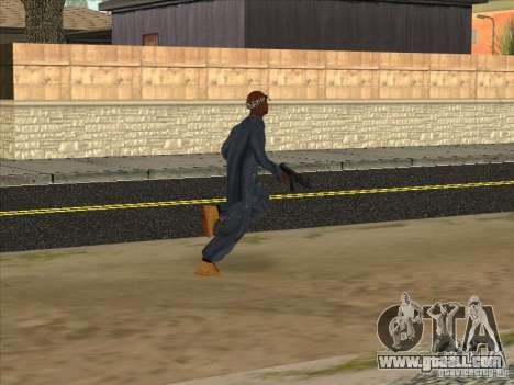 2Pac v1 for GTA San Andreas