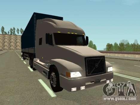 Volvo VNL for GTA San Andreas inner view