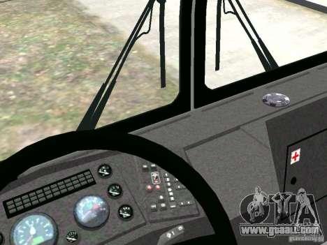 MAZ 5295 v2.0 final for GTA 4 inner view