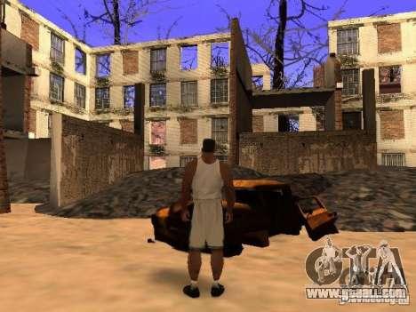 Chernobyl MOD v1 for GTA San Andreas eleventh screenshot
