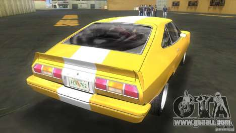 Ford Mustang Cobra 1976 for GTA Vice City left view