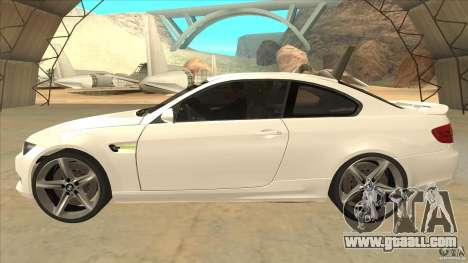 BMW 335i Coupe 2011 for GTA San Andreas left view