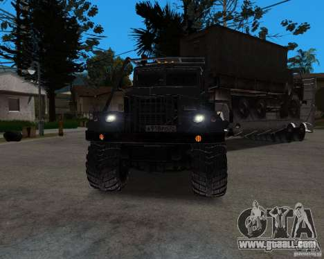 KrAZ 255 + trailer artict2 for GTA San Andreas