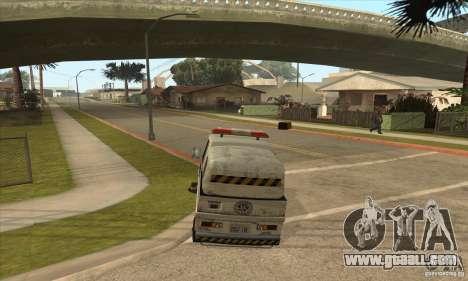 Work Street Sweeper for GTA San Andreas