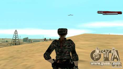 Soldier HD for GTA San Andreas forth screenshot