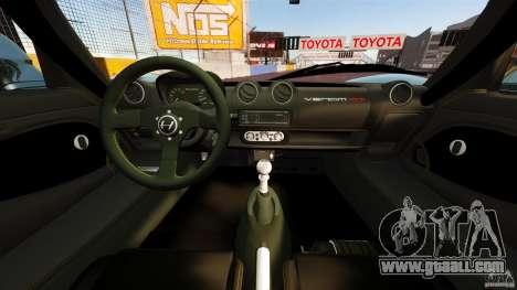 Hennessey Venom GT 2010 [EPM] for GTA 4 back view