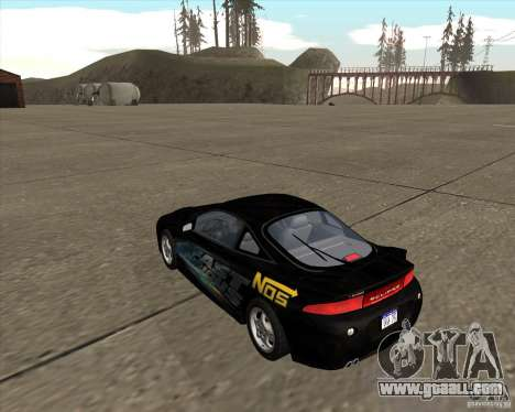 Mitsubishi Eclipse GST from NFS Carbon for GTA San Andreas left view