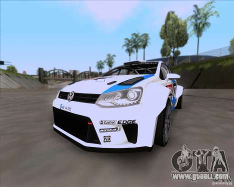 Volkswagen Polo WRC for GTA San Andreas side view