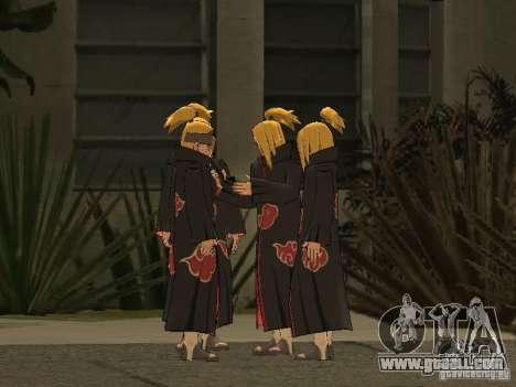 The Akatsuki gang for GTA San Andreas ninth screenshot