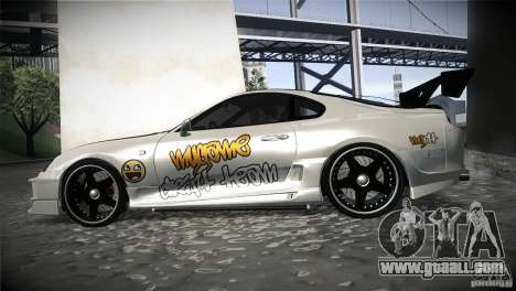 Toyota Supra MyGame Drift Team for GTA San Andreas left view