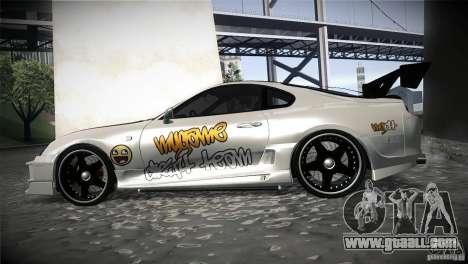 Toyota Supra MyGame Drift Team for GTA San Andreas left view