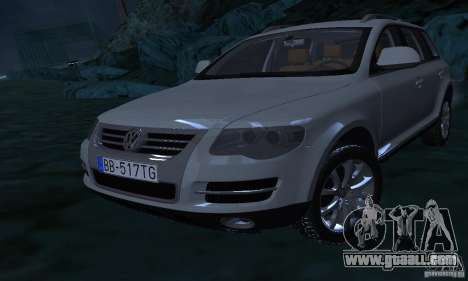Volkswagen Touareg for GTA San Andreas upper view