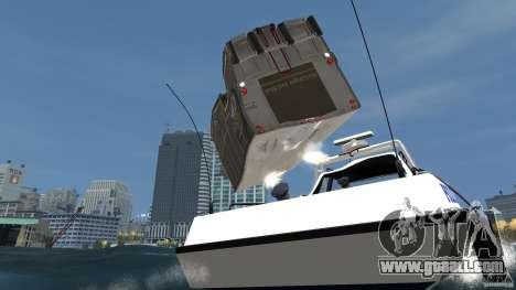Benson boat for GTA 4 side view
