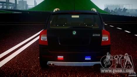 Skoda Octavia Scout Unmarked [ELS] for GTA 4 wheels