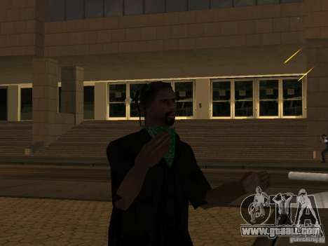 Replace all skins Grove Street Families for GTA San Andreas second screenshot