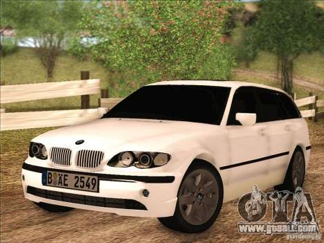 BMW M3 E46 Touring for GTA San Andreas left view