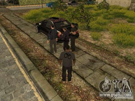 MAFIA Gang for GTA San Andreas second screenshot