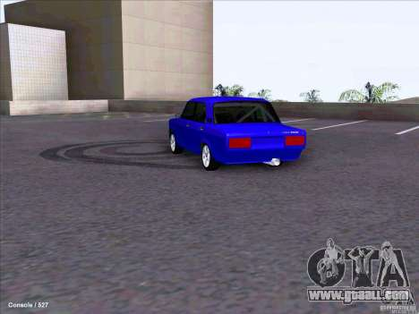ВАЗ 2107 Drift for GTA San Andreas right view