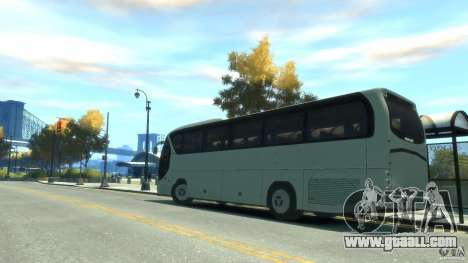 Neoplan Tourliner for GTA 4 left view