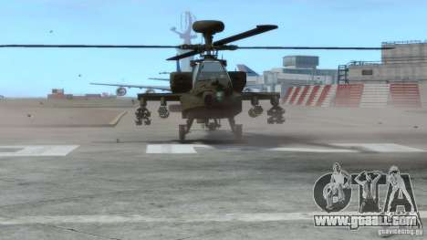 AH-64D Longbow Apache v1.0 for GTA 4 left view