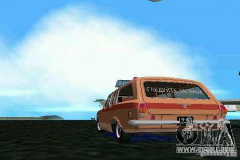GAZ Volga 2402-Aeroflot for GTA Vice City back left view