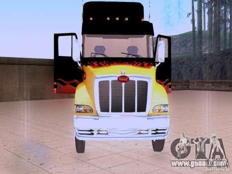 Peterbilt 387 for GTA San Andreas side view