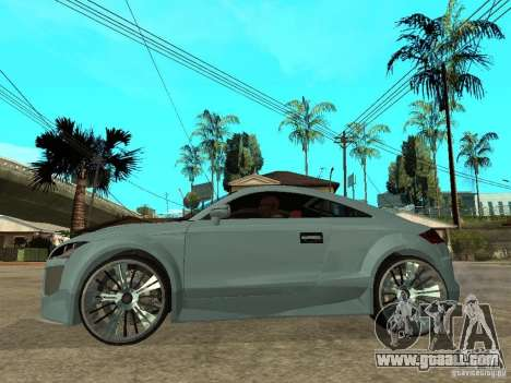 Audi TT 2007 Tuned for GTA San Andreas left view